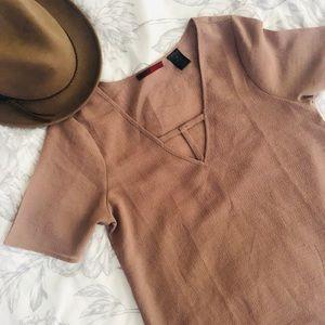 BKE tan shirt